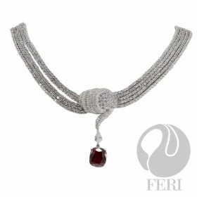 Why Opulence Global Breathless 950 Silver Necklace