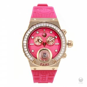 Earnings Disclaimer & Disclosure  FERI - Gaia Watch - Rose Tone with Pink Strap