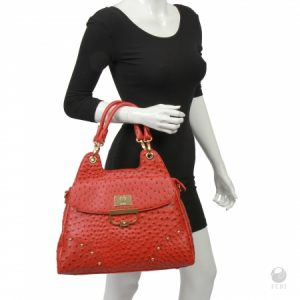 feri-luxe-veruca-purse-stingray-red-4