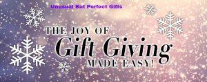 The perfect unusual Christmas holiday gift by GWT Corp