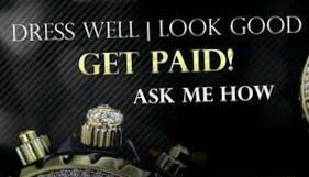 Get Paid to Wear GWT