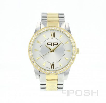 Get Paid to wear VIP shoppers program, POSH - Jesse Watch - Silver and Gold Tone