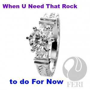 solid.925 sterling silver by FERI