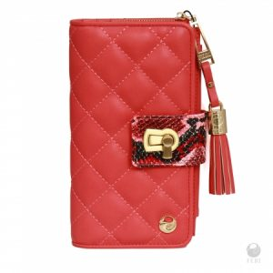 get-paid-to wear-feri-luxe-arisha coral pink-wallet
