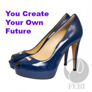 shop ladies high ed designer shoes by FERI
