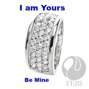 Acquire Be Mine Bridal Band Affordable .925 Sterling Silver Ring