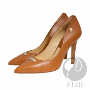 Shop for Ladies High End FERI Yvette Red-High Heel Luxury Shoes