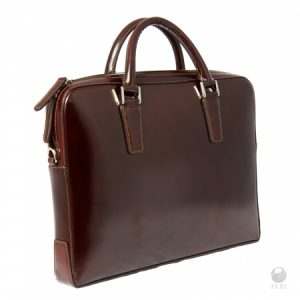Shop men's luxury patent leather briefcases