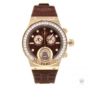Shop Theia Watch Rose Tone Under $2,000 Canadian